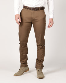 Jonathan D France Trousers Cappuccino