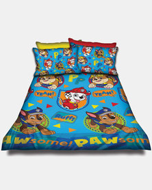 Character Brands Paw Patrol Cover Set Blue