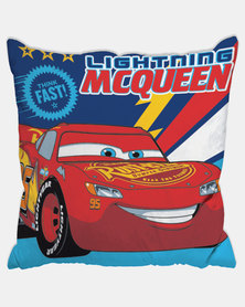 Character Brands Cars Scatter Cushion Red