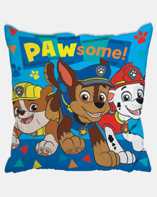 Character Brands Paw Patrol Scatter Cushion Blue