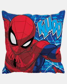 Character Brands Spiderman Scatter Cushion Red