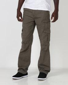 Samson M Cargo Trousers Olive
