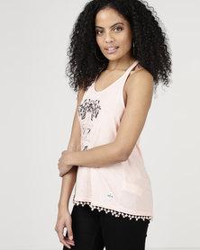 Lizzy Kasey Vest Light Pink