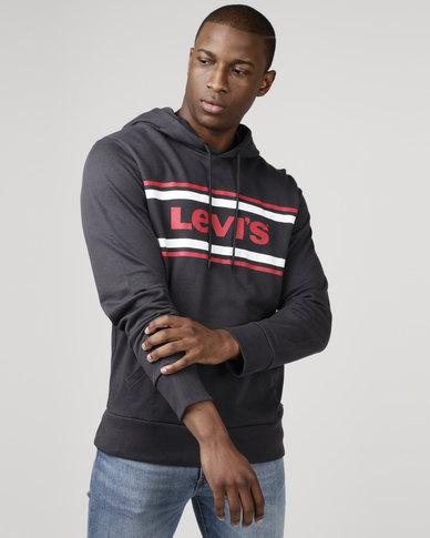 Levi's® Graphic Hoodie Dark Phantom