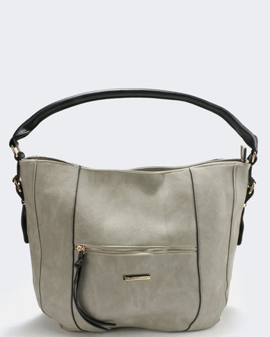 Blackcherry Bag Handbag Grey