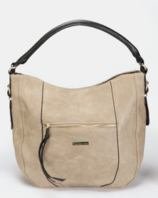 Blackcherry Bag Handbag Stone