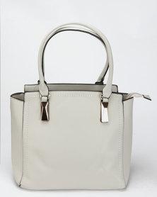 Blackcherry Bag Smart Handbag Oyster Grey