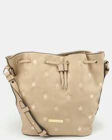 Blackcherry Bag Bucket Bag Beige