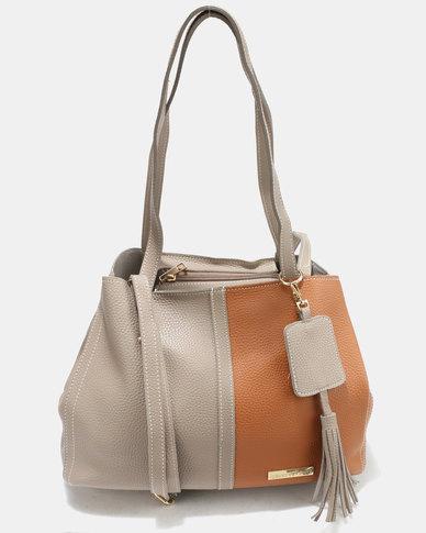 Blackcherry Bag Hand Bag Taupe/Tan