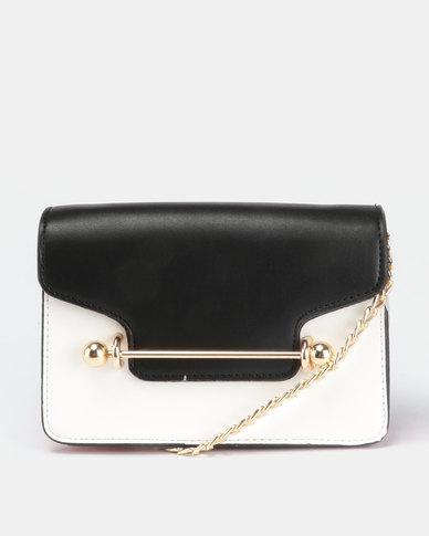241938ed49 Blackcherry Bag Cross Body Bag Black White Burgundy