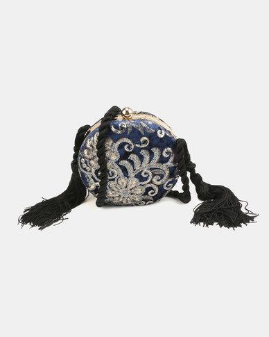 Blackcherry Bag Clutch Bag Blue