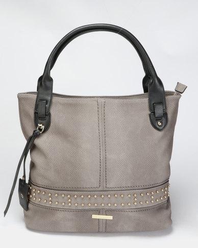 Blackcherry Bag Hand Bag Grey