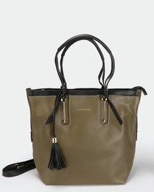 Blackcherry Bag Smart Hand Bag Army Green