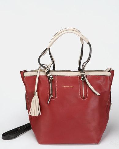 Blackcherry Bag Smart Hand Bag Burgundy