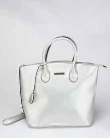 Blackcherry Bag Hand Bag Silver