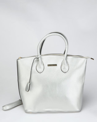 5ff52433fba6 Blackcherry Bag Hand Bag Silver