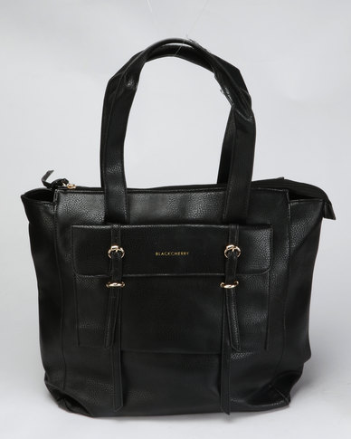 Blackcherry Bag Hand Bag Black