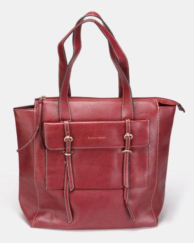 Blackcherry Bag Hand Bag Burgundy