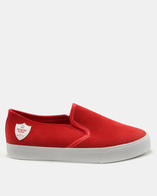 Cutty Mthandeni Cummp Slip On Sneakers Red
