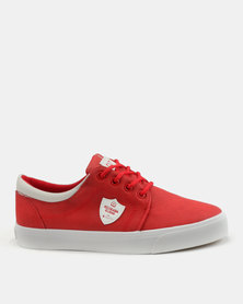 Cutty Mthandeni Cummp Lace Up Sneakers Red
