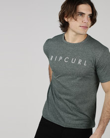 Rip Curl Geo Tee Olive Green