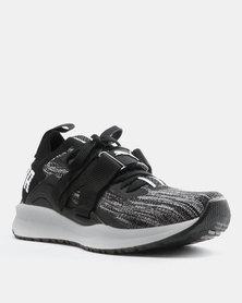 Puma Performance Mega NRGY Knit Sneakers Olive Night-Puma Black  c7f389bd9