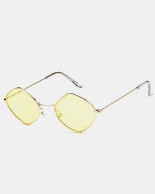 Naked Eyewear Rylan Sunglasses Yellow