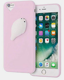 Naked Eyewear Squishy Seal iPhone 7 Cover Pink