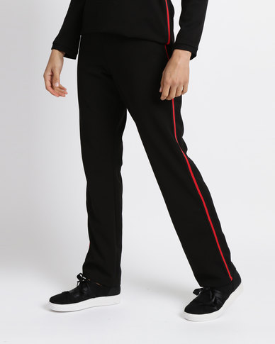 Famous Haily Pants Black/Red