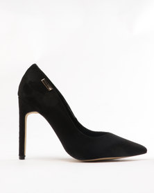Sissy Boy V-Vamp Stiletto Courts Black