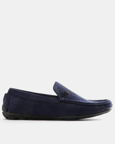 Utopia Mens Pony Casual Drivers Navy