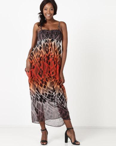 Vero Moda Mayura Maxi Dress Black