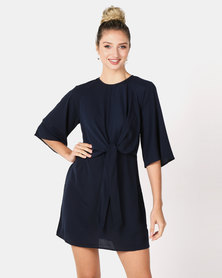 AX Paris Midi Dress Navy