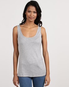 Betty Basics Miami Tank Top Grey