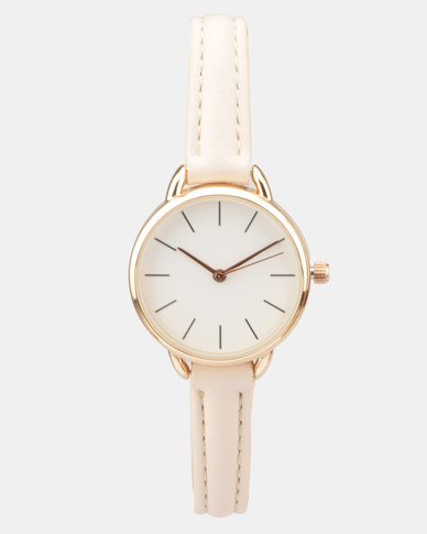 New Look Loop Shoulder Mini Case Watch Pink