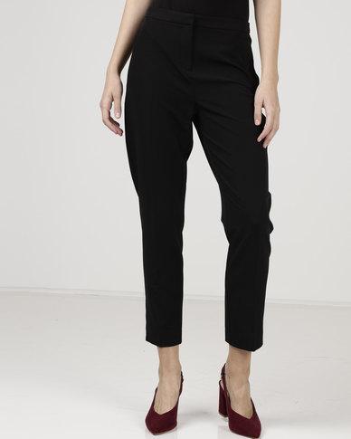 New Look Slim Leg Trousers Black