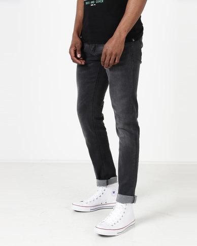 Duck & Cover Pekin Skinny Jeans Black