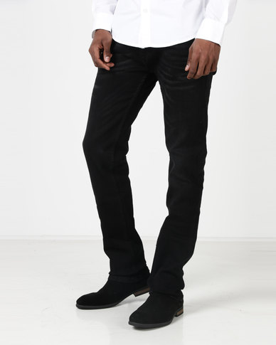 Duck & Cover Harlequin Slim Fit Jeans Black