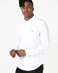 Duck & Cover Raginald Tailored Fit Shirt White