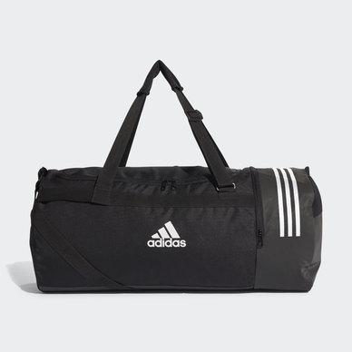 Convertible 3-Stripes Duffel Bag