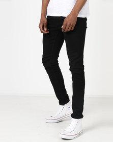 Ringspun Oberon Skinny Jeans Black