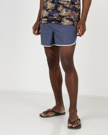 D-Struct Petro Swimshorts Navy