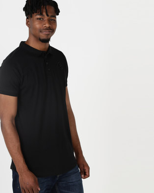 Crosshatch Splendour Polo Shirt Black