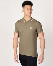 Crosshatch Mickleton CH Polo Pique Dusty Olive