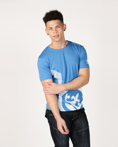 Crosshatch Sudworth T-Shirt Blue