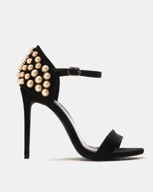 Miss Black Hadia Heeled Sandals Black