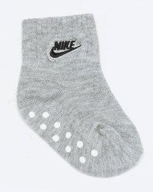 Nike Baby 3 Pack Grip Socks Obsidian