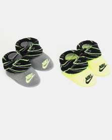 Nike Baby 2 Pack Bootie Gift Set Black