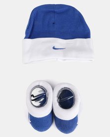 Nike Baby Beanie & Bootie Gift Set Game Royal