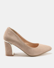 Utopia Metal Trim Courts Nude